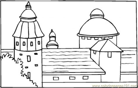 spanish food coloring page free printable coloring page villa in south of spain