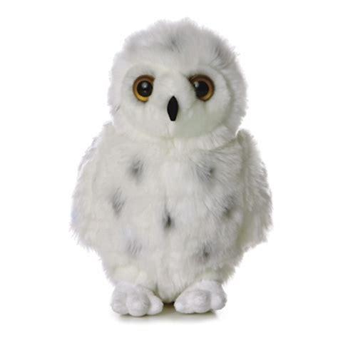 owl stuffed animal snowy the plush snowy owl by aurora