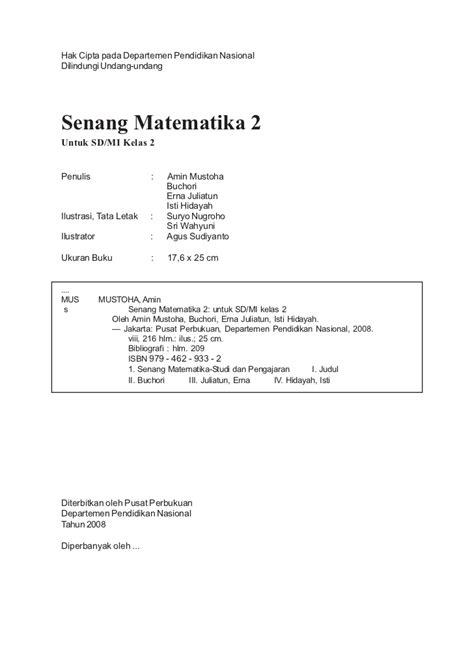Senang Belajar Matematika Sd Kelas 3 sd2mat senang matematika amin