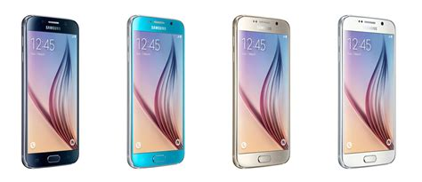 Samsung Galaxy S6 Colors samsung galaxy s6 and galaxy s6 edge colors