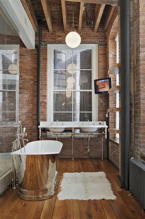 Industrial Modern Bathroom Decor Steunk Interior Design Ideas From Cool To