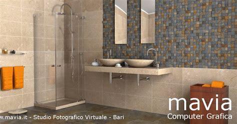 modelli di bagni in muratura arredamento di interni arredo bagni moderni rendering