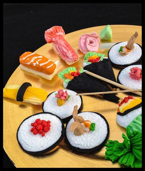 Sweet Sight Sushi Cookies by Sushi Cookies Sweet Cake Decorating