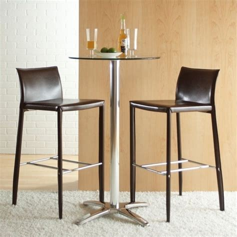 30 Seat Height Bar Stools | eurostyle shelby 30 seat height leather bar stool ebay
