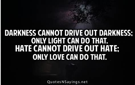 drive out mlk jr quotes darkness quotesgram
