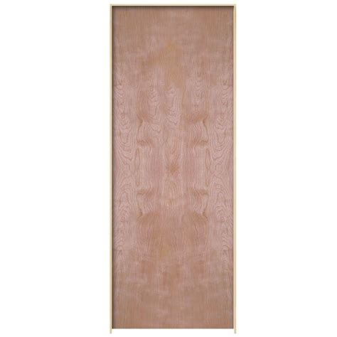 masonite smooth flush hardwood hollow core unfinished masonite 30 in x 80 in smooth 2 panel square hollow core