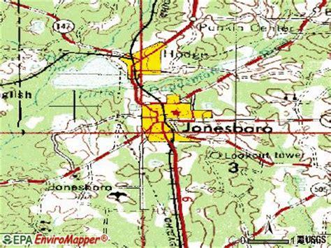 jonesboro louisiana map jonesboro louisiana la 71251 profile population maps