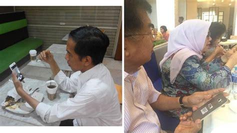 profil jokowi dan jk ini dia merk hp presiden jokowi dan wapres jusuf kalla