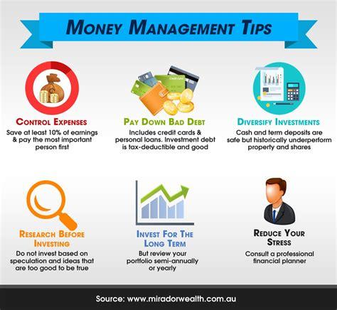 best money management 6 money management tips for startup success infographic