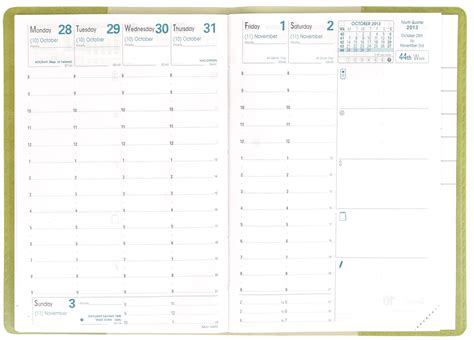 Planner Com | spotlight on the principal weekly planner quo vadis blog