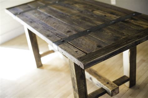 reclaimed wood table reclaimed wood dining table great home furniture by