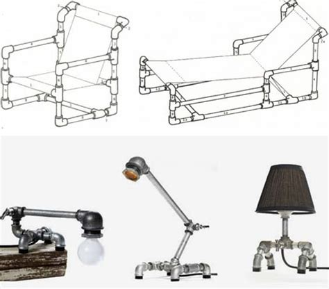 Steel Pipe Plumbing by Plumbing Furniture 12 Diy Fixtures Made Of Pipes Fittings