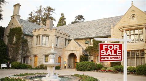 Mansions For Sale | playboy mansion for sale with one tenant for life