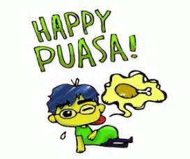 Lu Proyektor Selamat Puasa Hari Raya Idul Fitri gambar puasa dp bbm gambar animasi bergerak lucu
