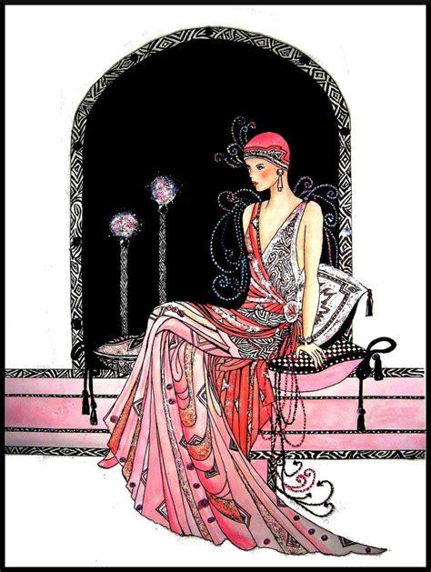 art deco lady l deco lady by bonniemarie on deviantart