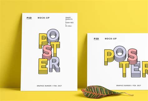 graphicburger flyer mockup poster free psd mockup portret landscape responsive