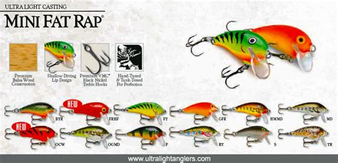 top 50 bait lures for ultralight fishing