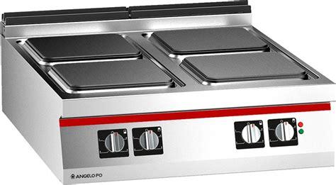 cucine piastre elettriche cucina 4 piastre elettriche professionale 1n0pe4