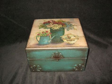 Decoupage Box - vintage decoupage box my decoupage