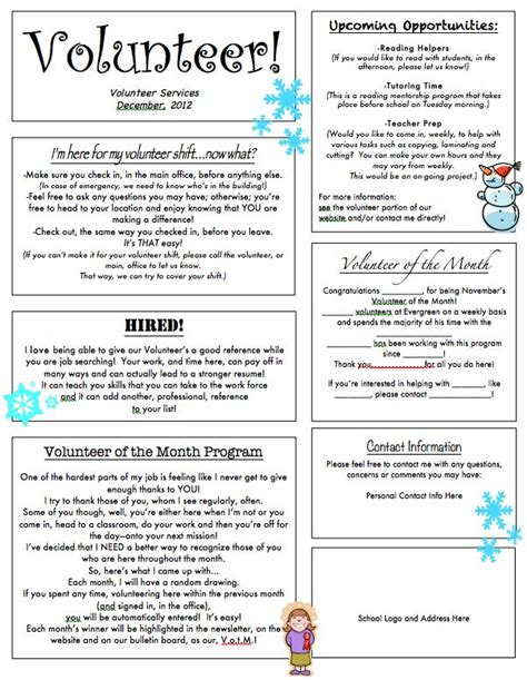 pto newsletter templates free pto newsletter template 32 primary school newsletter