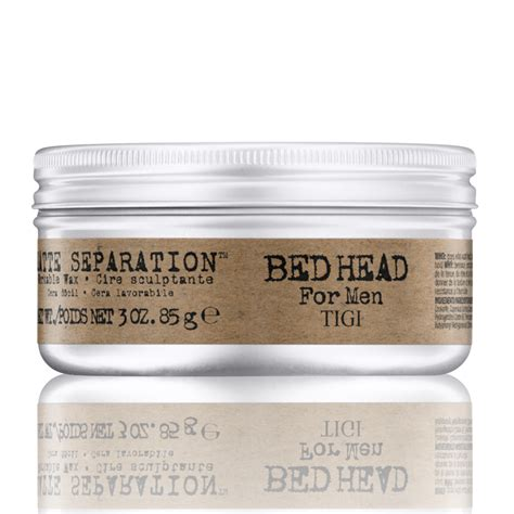 bed head matte separation tigi bed head for men matte separation workable wax 85g