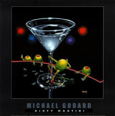 martini godard martini print by michael godard at com