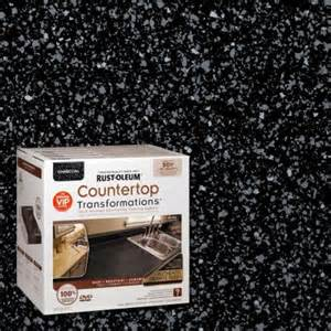 rust oleum transformations 1 qt charcoal large countertop