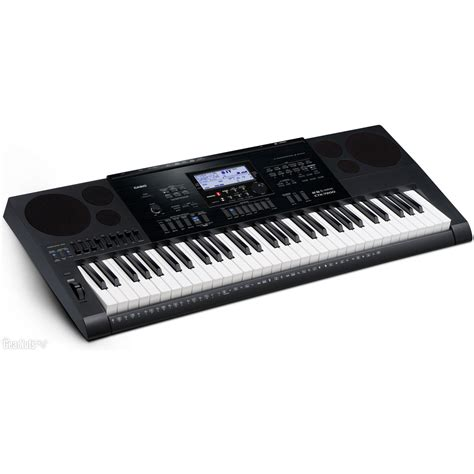 Casio High Grade Keyboard Ctk 7200 casio ctk 7200 portable keyboard with bench headphones stand at gear4music