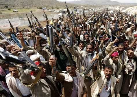 tribes and politics in yemen a history of the houthi conflict books houthi rebels in sanaa give yemen s president 10 days to