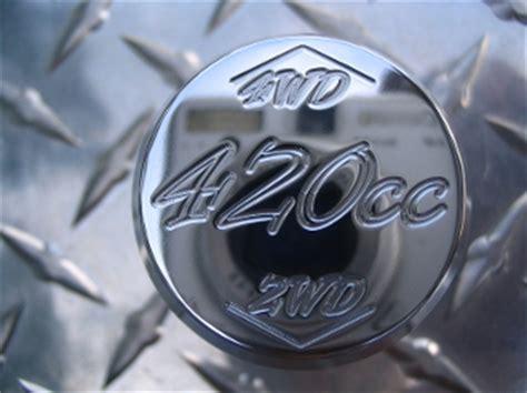 4x4 Shifter Knobs by Billet Quot 420cc Quot Shift Knob Honda Rancher 420 4x4 Shifter