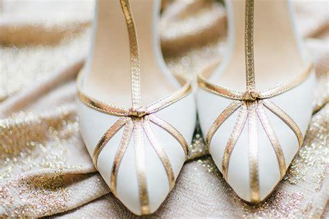 Goldene Hochzeit Schuhe by Winterinspiration Hochzeit In New York Friedatheres