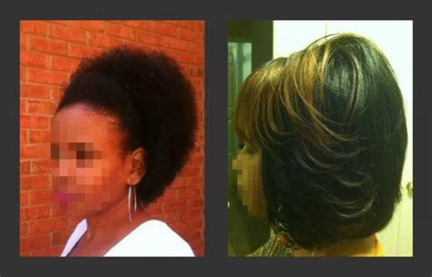 dominican blowout on short hair natural blowout hairstyles my natural hair vs my