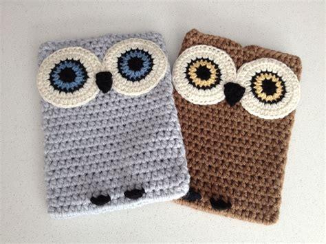 crochet ipad bag pattern crochet owl ipad case crochet owls ipad case and ipad
