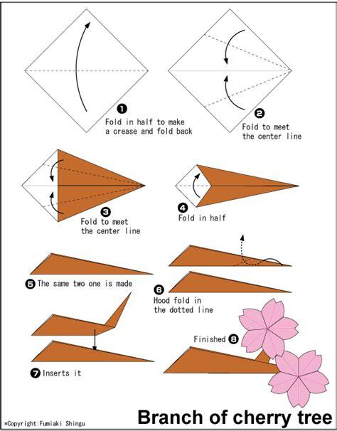 cara membuat origami bentuk bunga sakura cara membuat origami bunga sakura cherry cara membuat