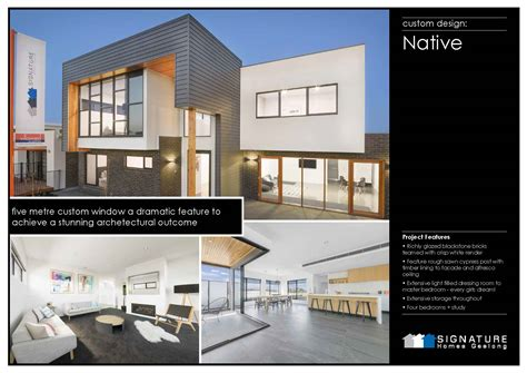 q designer homes geelong image mag