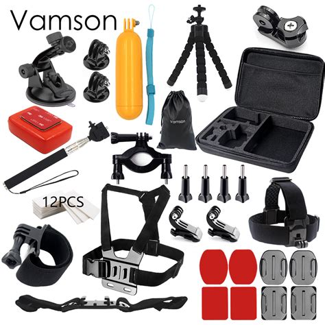 Jual Gopro 4 Black Set vamson for gopro 5 accessories set for gopro kit
