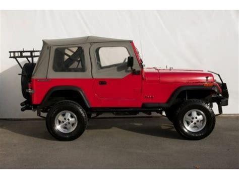 1989 Jeep Wrangler Yj Value 1989 Jeep Wrangler S 4x4 Data Info And Specs Gtcarlot