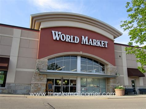 World Market by Thanks Mail Carrier Outdoor Living In Style With Cost