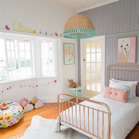 retro girls bedroom electic young girls room with retro colors petite