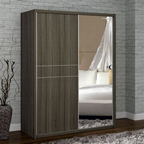 franklin oak wooden sliding wardrobe