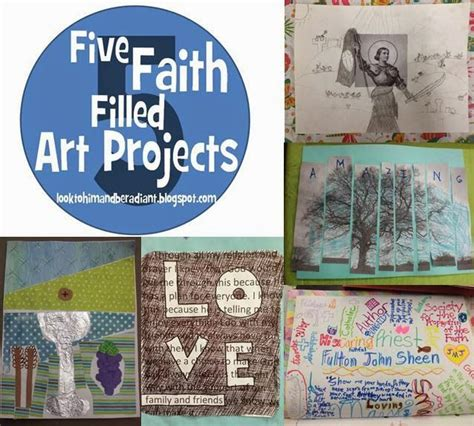 faith craft for five faith filled projects ideas for five