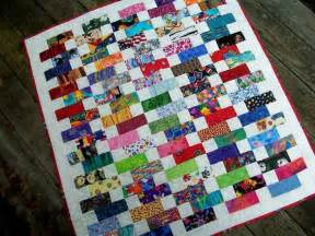 baby bricks quilt pattern charm pack and jelly roll