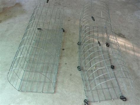 build  diy backyard chicken tunnel