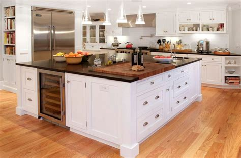 Center Island Kitchen Ideas 20 Examples Of Stylish Butcher Block Countertops