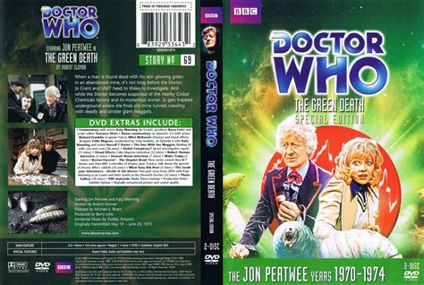 Dvd Who Are You doctor who the green tv dvd scanned covers doctor who the green story 69