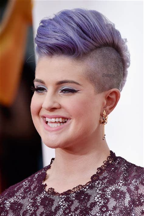 kellie bright hair styles kelly osbourne fauxhawk short hairstyles lookbook