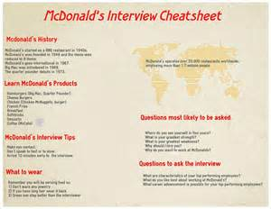 mcdonald s questions and answers