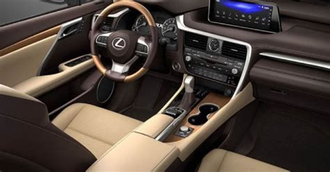 lexus rx  updates equipment  price suvs reviews