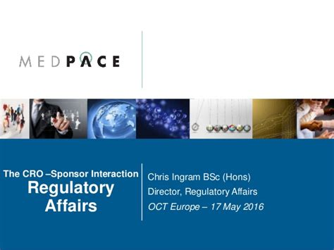 Mba In Regulatory Affairs by The Cro Sponsor Interaction Regulatory Affairs