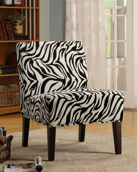 zebra pattern furniture lifestyle armless wild zebra pattern lounge chair from